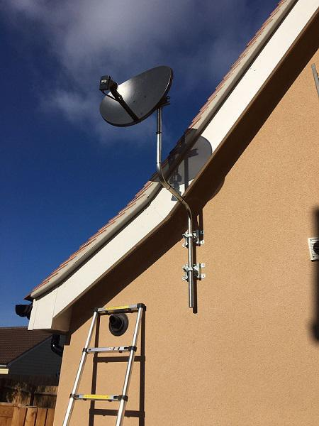 Image 16 - SKY DISH INSTALL ON NEW BUILD