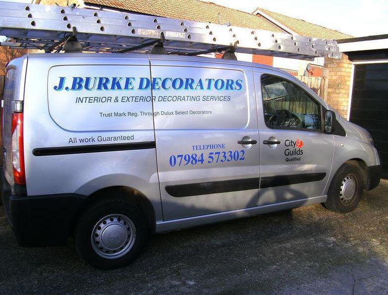 John Burke Decorators logo