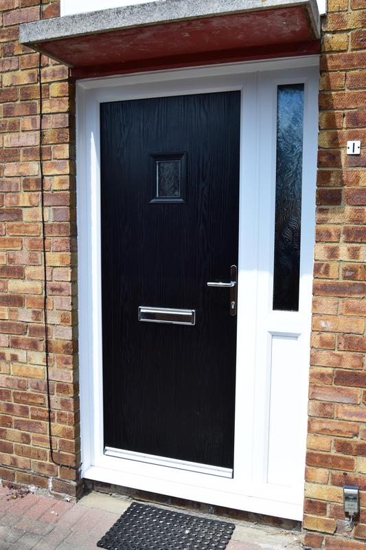 Image 38 - Cottage style composite door and side screen