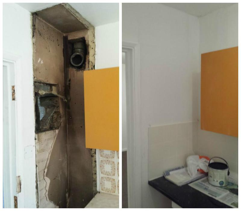 Image 14 - Kitchen made good from the removal of heating.