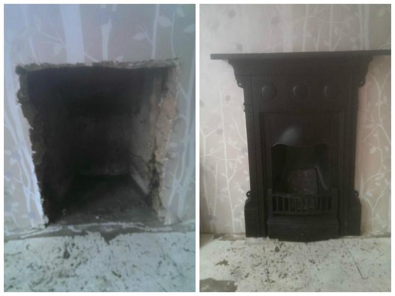 Image 20 - Fire installed.