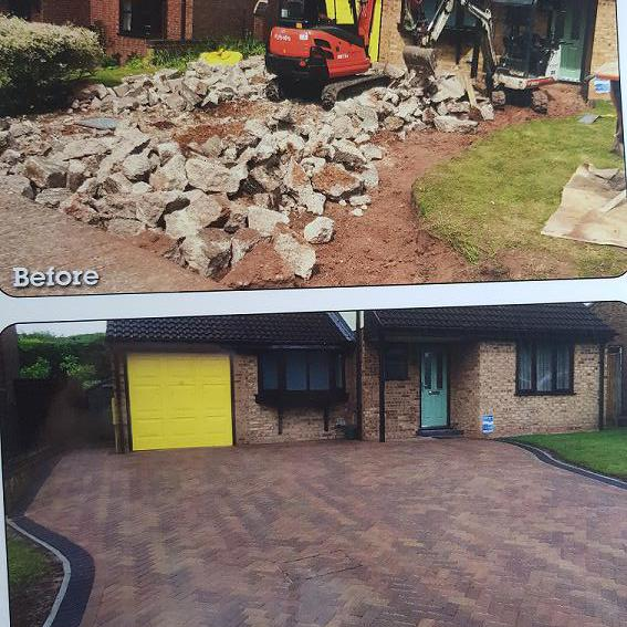Image 13 - What a difference a new driveway can make