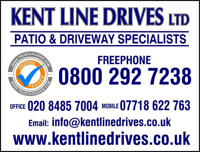 Kentline Drives and Patios Ltd logo