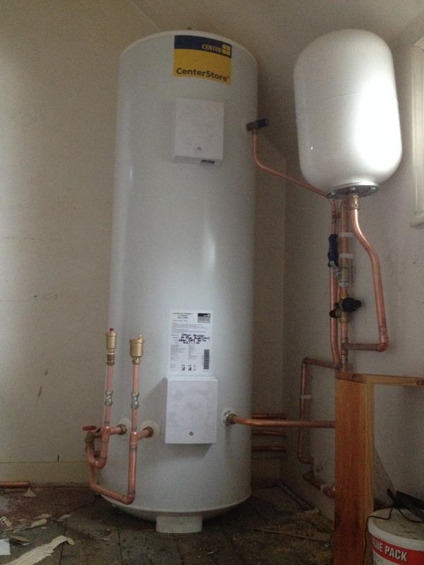 Image 94 - Unvented cylinder installed in a Carehome that we look after.