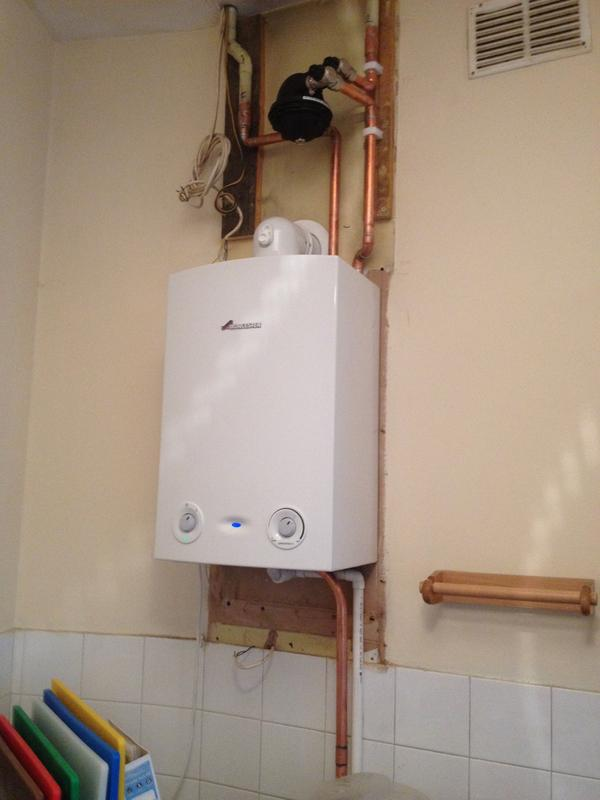 Image 95 - Worcester Bosch boiler installed in Care home.