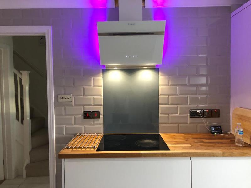 Image 1 - Full kitchen wall metro tiling