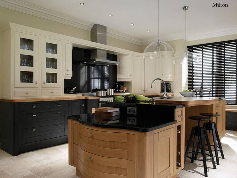Image 5 - Timber wood kitchen doors