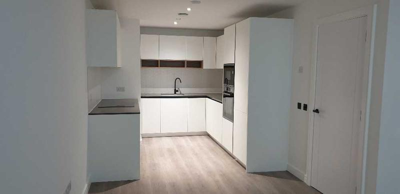 Image 7 - Handless kitchen with worktops and appliances fitted