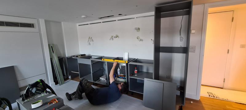 Image 11 - Kitchen Installation