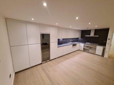 Image 38 - Kitchen refurb - underfloor heating, engineered wood flooring, new kitchen units and appliances, stone ceramic worktop, new lights and LED strips in Bermondsey