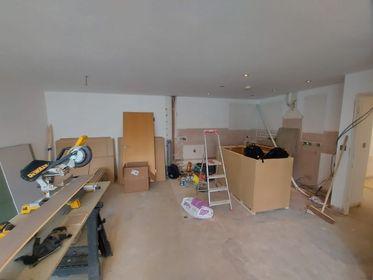 Image 36 - Preparation for kitchen refurb, Bermondsey