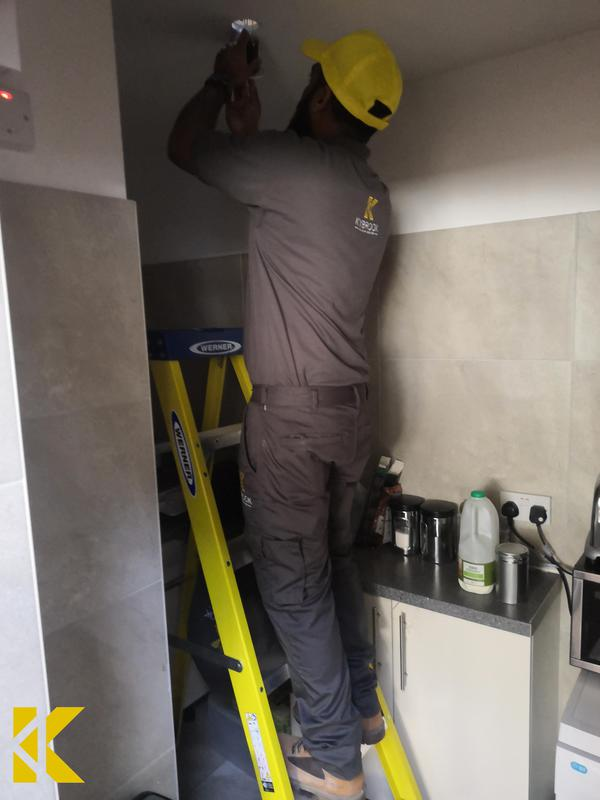 Image 6 - Emergency light replacementscompleted by Kybrook's electrical engineer.