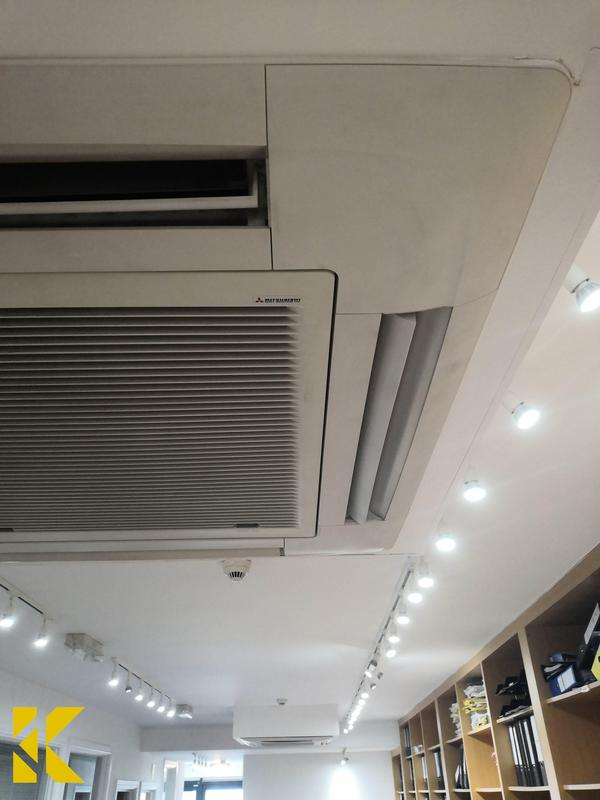 Image 14 - Annual air conditioning servicecompleted by Kybrook's HVAC engineers.
