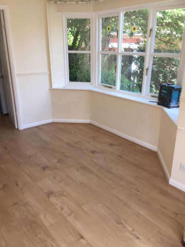 Image 6 - Laminate floor fitted throughout ground floor in Chelmsford by DKM Developments Ltd, builders, Great Dunmow, Essex