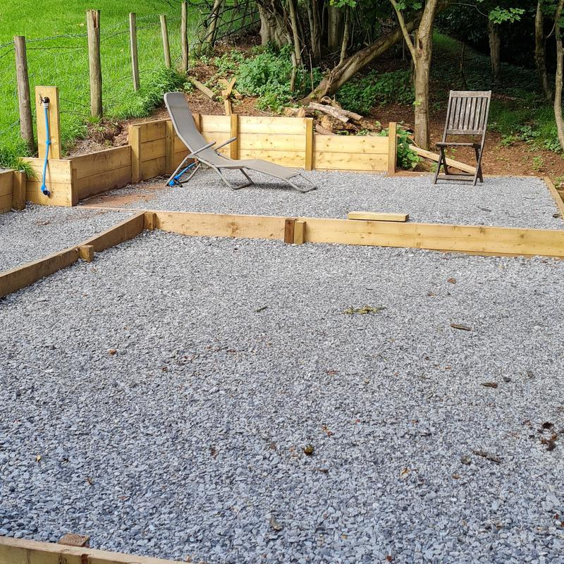 Image 18 - Woodland Retreat Completed with 10mm & 20mm Limestone...