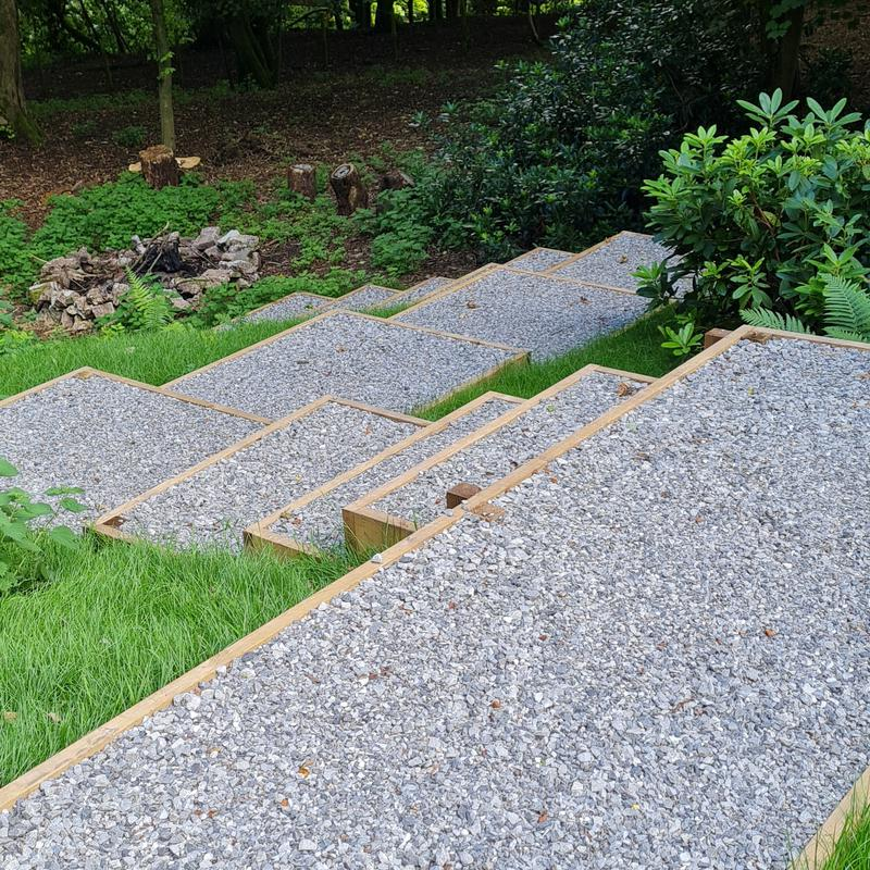 Image 19 - Woodland Retreat Completed with 10mm & 20mm Limestone...