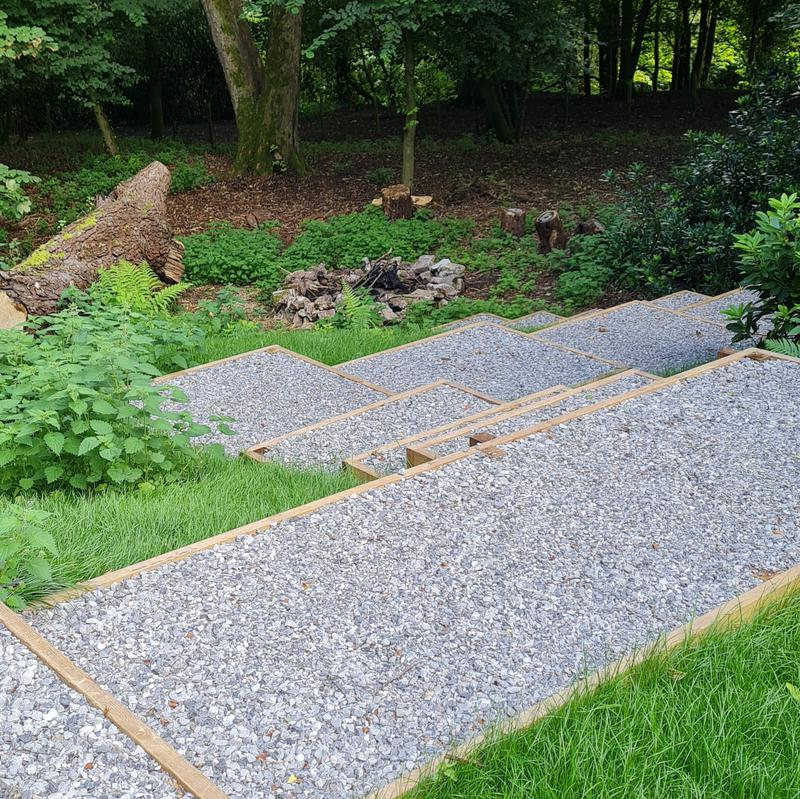 Image 20 - Woodland Retreat Completed with 10mm & 20mm Limestone...