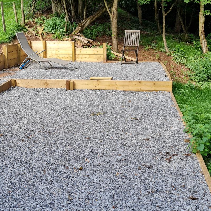 Image 21 - Woodland Retreat Completed with 10mm & 20mm Limestone...