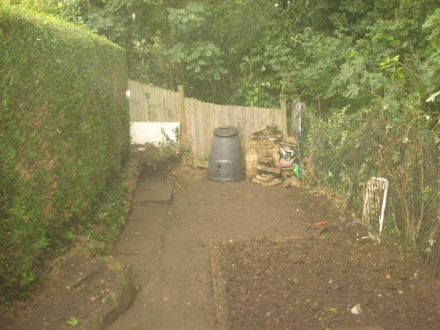 Image 22 - after very over grown garden cleared