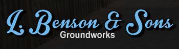 L Benson & Sons Groundworks logo