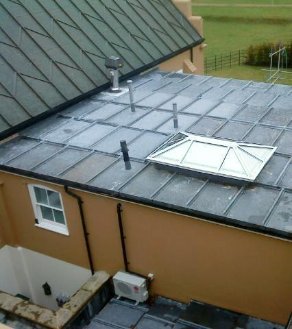 Image 9 - Flat lead roof aldenham radlett Manson