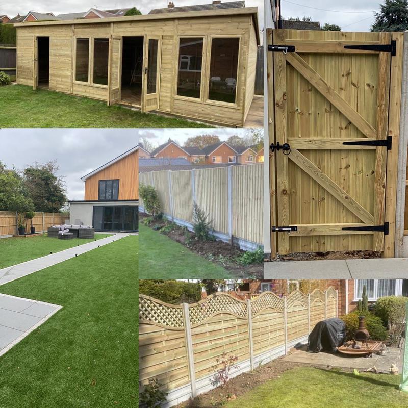 BFSL Construction Ltd t/a Blaby Fencing, Sheds & Landscaping. logo