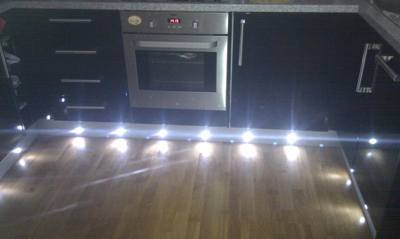 Image 1 - low level kitchen plinth led lights