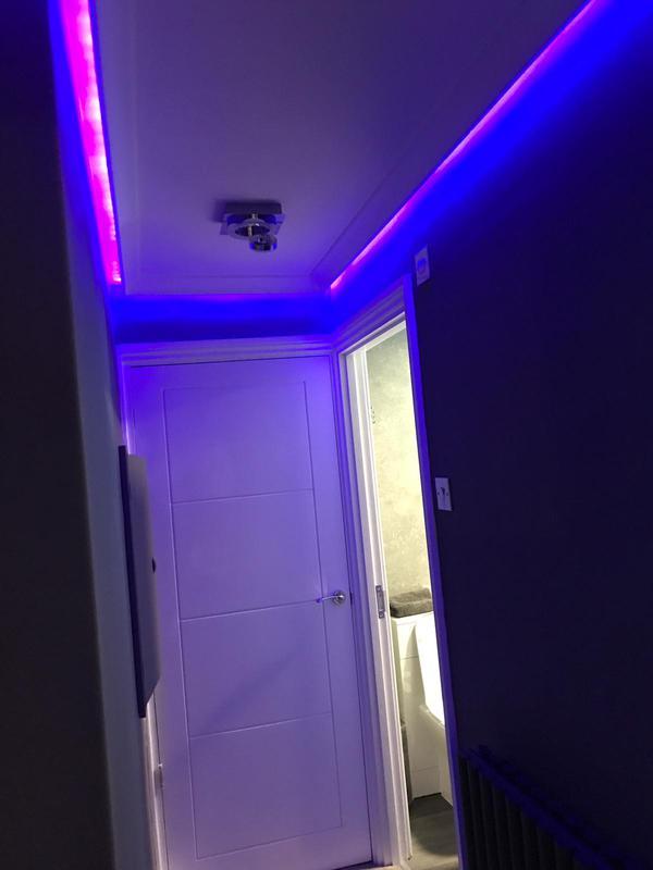 Image 21 - Coloured LED lighting.