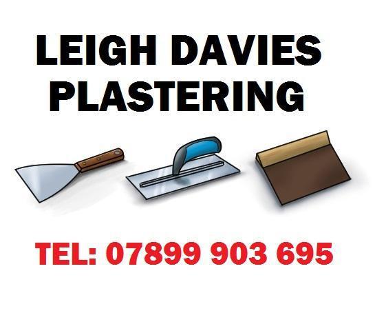 Leigh Davies Plastering logo
