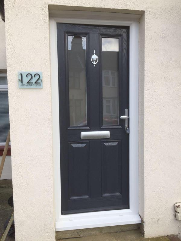 Image 106 - Leigh-on-Sea-Black composite door
