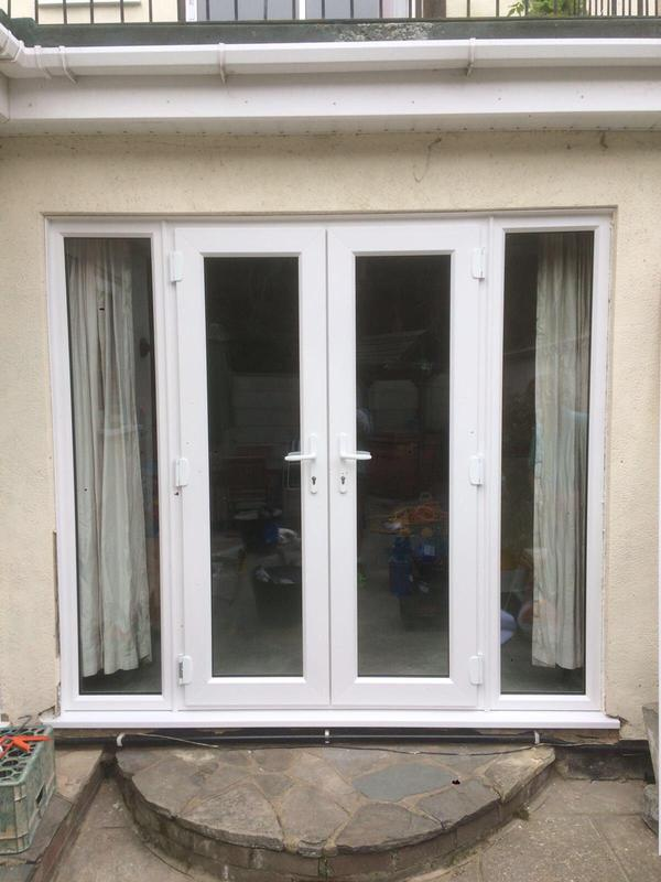 Image 105 - Leigh-on-Sea-White UPVC French doors