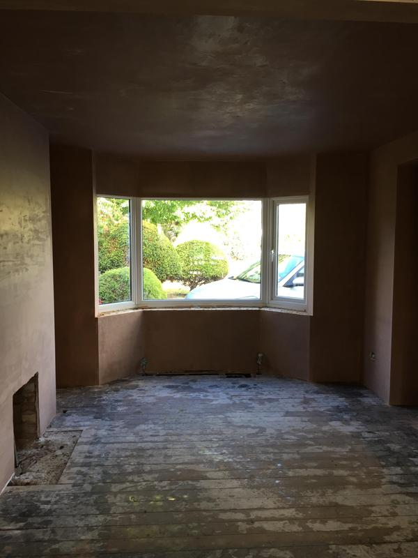 Image 1 - Living room  plastering Cambridge by DKM Developments Ltd builders Great Dunmow