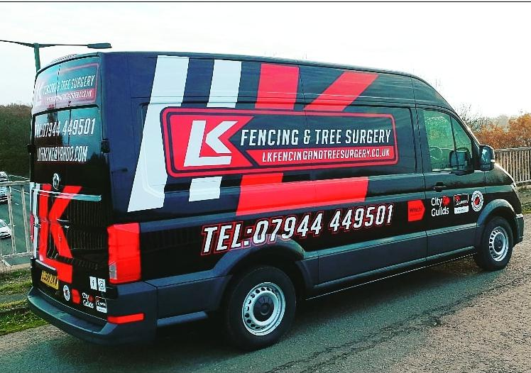 LK Fencing & Maintenance Ltd logo
