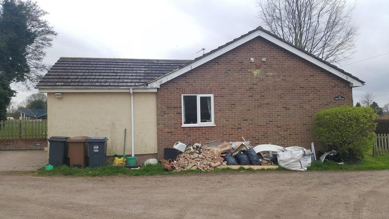 Image 87 - SG11 2DX - BEFORE. EXTENSION & LOFT CONVERSION THE LODGE
