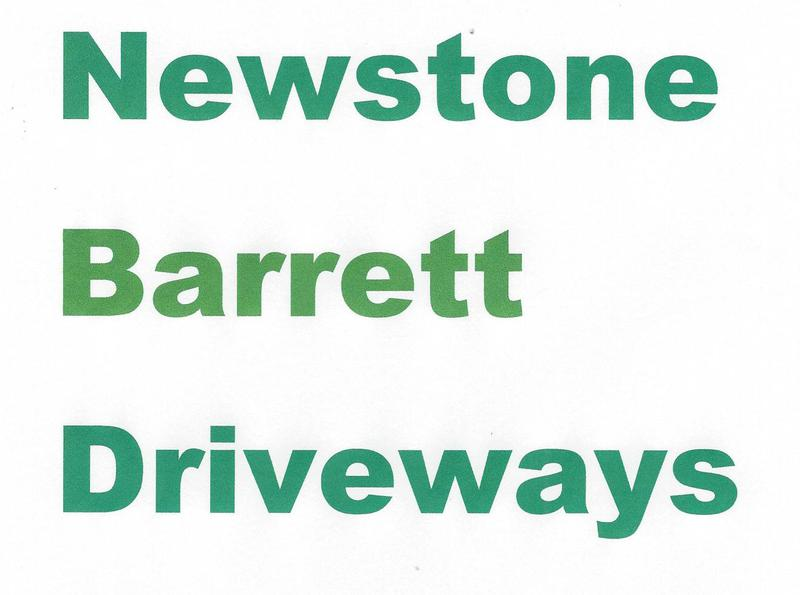 Newstone Barrett Driveways ltd logo