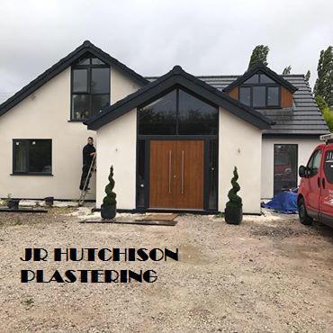 JR Hutchison Plastering logo