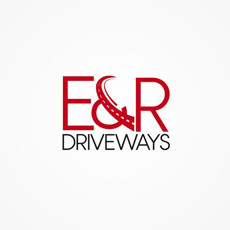 E&R Driveways logo