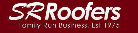 SR Roofers logo