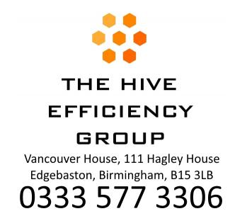 The Hive Efficiency Group Ltd logo