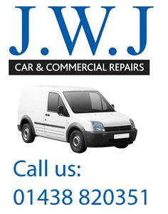 JWJ Car & Commercials logo
