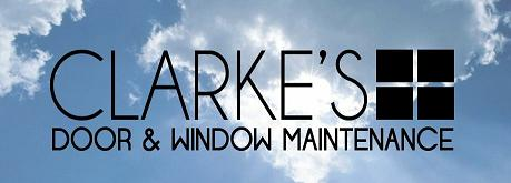 Clarke's Door & Window Maintenance logo