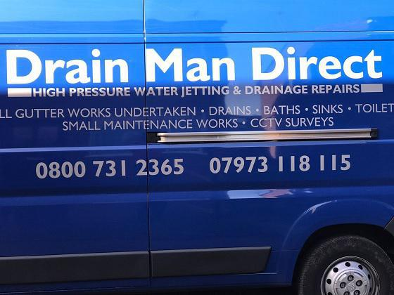 Drain Man Direct logo