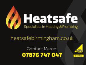 Heat Safe logo