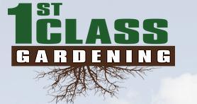 1st Class Gardening Ltd logo