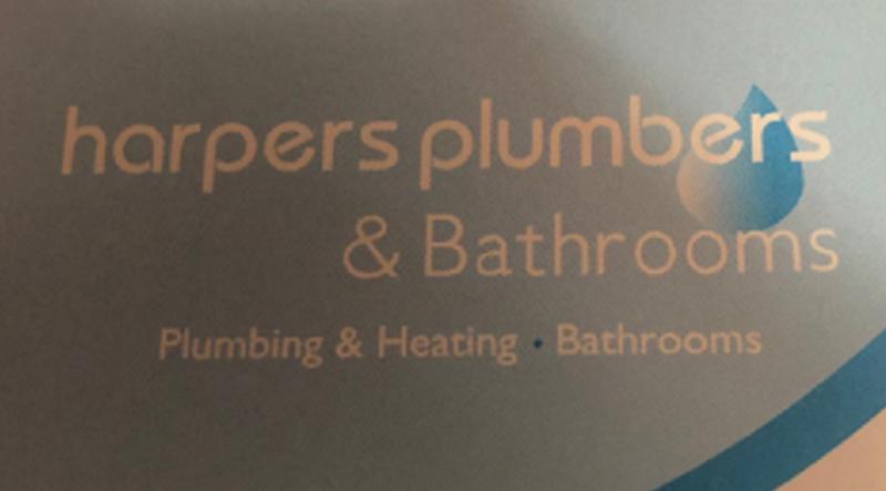 Harpers Plumbers logo