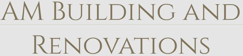 AM Building and Renovations logo