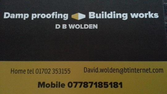 DB Wolden Damp Proofing logo