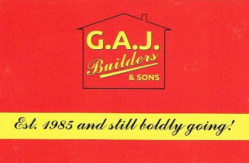 GAJ Builders logo