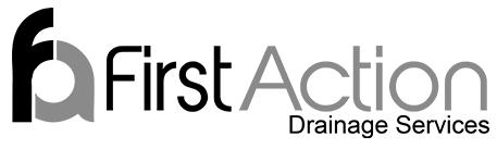 First Action Drainage Services logo