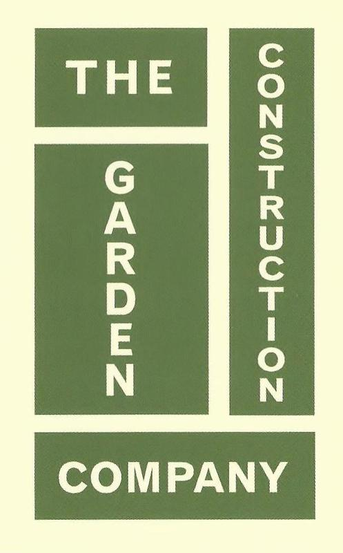 The Garden Construction Company logo